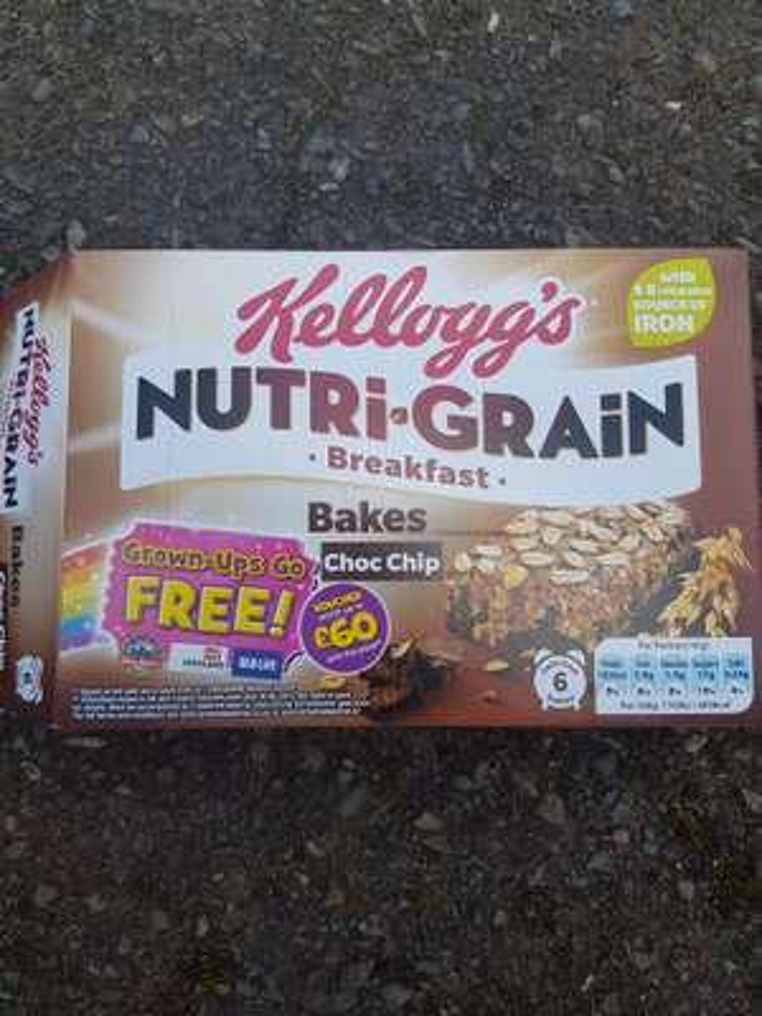 Nutri-Grain Breakfast Bake  @ Tesco for £1.14