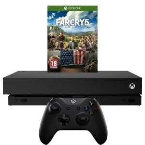 Xbox One X 1TB Console + Far Cry 5 or Sea of Thieves or Forza 7 (XB1) - £401.10 Using Code P10MAY @ AO - Ebay