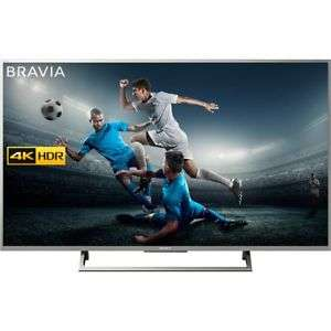 Sony Bravia KD49XE7073 4K HDR Smart TV (X-Reality PRO for Enhanced Clarity, Texture and Detail Picture Quality, 2017 Model) now £449.10 delivered using code @ AO Ebay