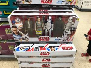 Star Wars Figures £60 down to £5 instore at Tesco