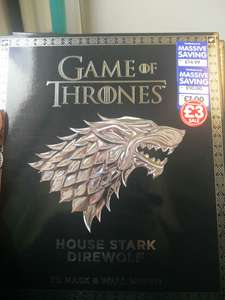 Game of thrones 3D Masks £3 @ The works - Wilmslow