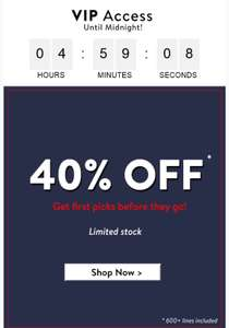 Tokyo Laundry offering 40% ALSO 25% off Full price items w/code
