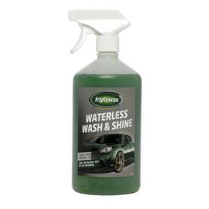 Triplewax Waterless Wash and Shine 1L - £2.50 @ Wilko (in Store)