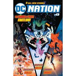 DC: Nation #0 (First Edition Print) only 25p instore @ Forbidden Planet (or delivery just £1)