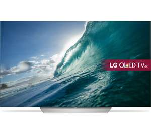 "0%finance OLED55C7V 55"" Smart 4K Ultra HD HDR OLED TV - £1,599 @ Currys"