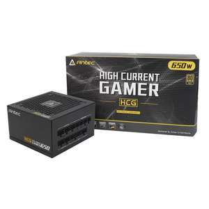 Antec HCG 650 and 750w 80 Plus Gold PSU - Made by Seasonic - £79.99 @ Overclockers