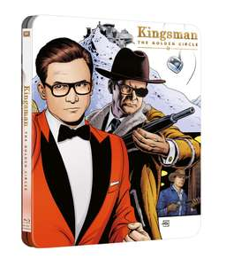 Kingsman: The Golden Circle 4K Ultra HD Steelbook £15.99, War for the Planet of the Apes 4K Steelbook £14.99 @ HMV