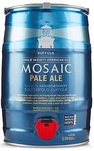 Mosiac Pale Ale Keg 5 Litres £12 @ M&S (+£3.50 delivery)