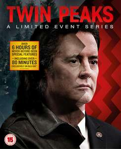 Twin Peaks: A Limited Event Series/Season 3 (Slipcase Version) Blu-ray £24.99 @ Zavvi