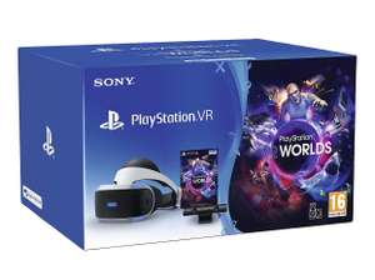 PSVR Bundle, VR Worlds, Resident Evil 7 and Skyrim VR for £269 at Tesco Direct