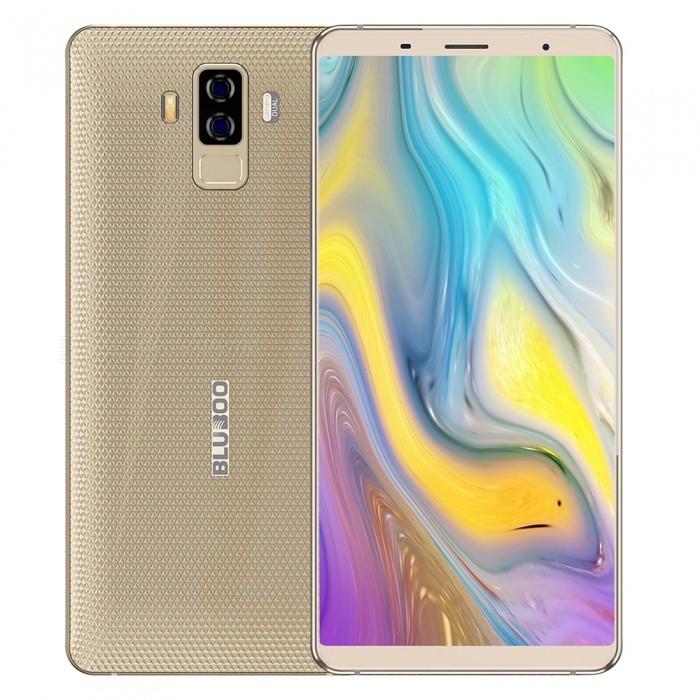 Bluboo S3 6.0 Inch Sharp FHD+ 8500mAh 12V/2A NFC 4GB RAM 64GB ROM MTK6750T 1.5GHz 4G Smartphone - Gold £107.02 @ DealExtreme