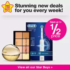 Superdrug Members Only Buy 1 get 2nd 1/2 price on Fragrance - Must End Monday!
