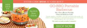 £10 off The Go-BBQ with Code @ Scotts of Stow