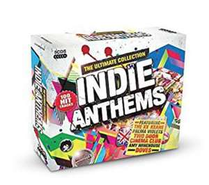Indie Anthems - The Ultimate Collection 5CD just £4.99 prime / £7.98 non prime @ Amazon