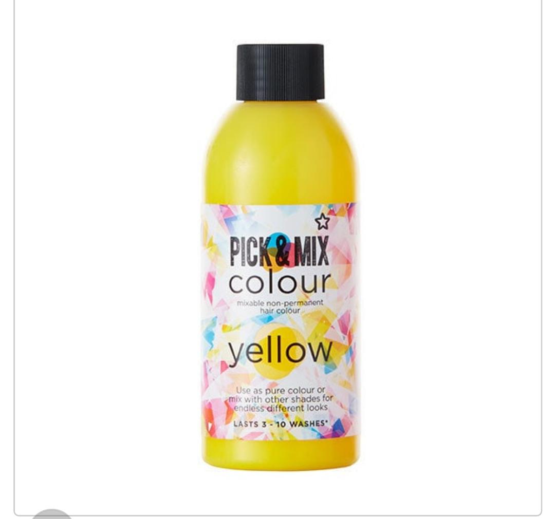 Superdrug Pick & Mix Colour Semi Permanent Hair Dye Yellow £1.25 + Free c&c