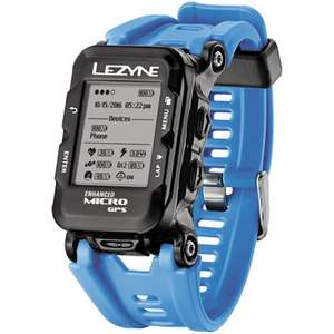 Lezyne Micro GPS Watch with Mapping (MTB, Run, Hike Walking) only £69.99 (Colour Version Incl HR Belt £96.99) @ Wiggle
