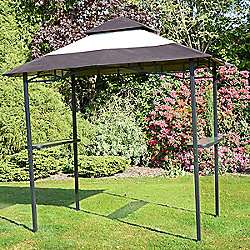 BBQ Gazebo Shelter - Steel Frame Barbecue, Bar & Party Shelter - Now £69.99 + Delivery £5.95 @ Tesco / Expressco Direct