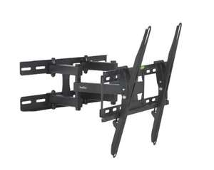 """VonHaus 23-56"""" Double Arm Tilt & Swivel TV Wall Mount Bracket with Built-In Spirit Level, 45kg Weight Capacity - £12.74  Dispatched and sold by DOMU UK - Amazon (lightning deal)"""