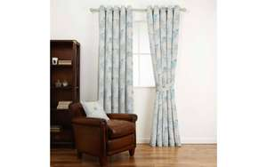 SANDFORD SEASPRAY FLORAL CURTAIN FABRIC - Now £7 at Laura Ashley + Delivery £4.50