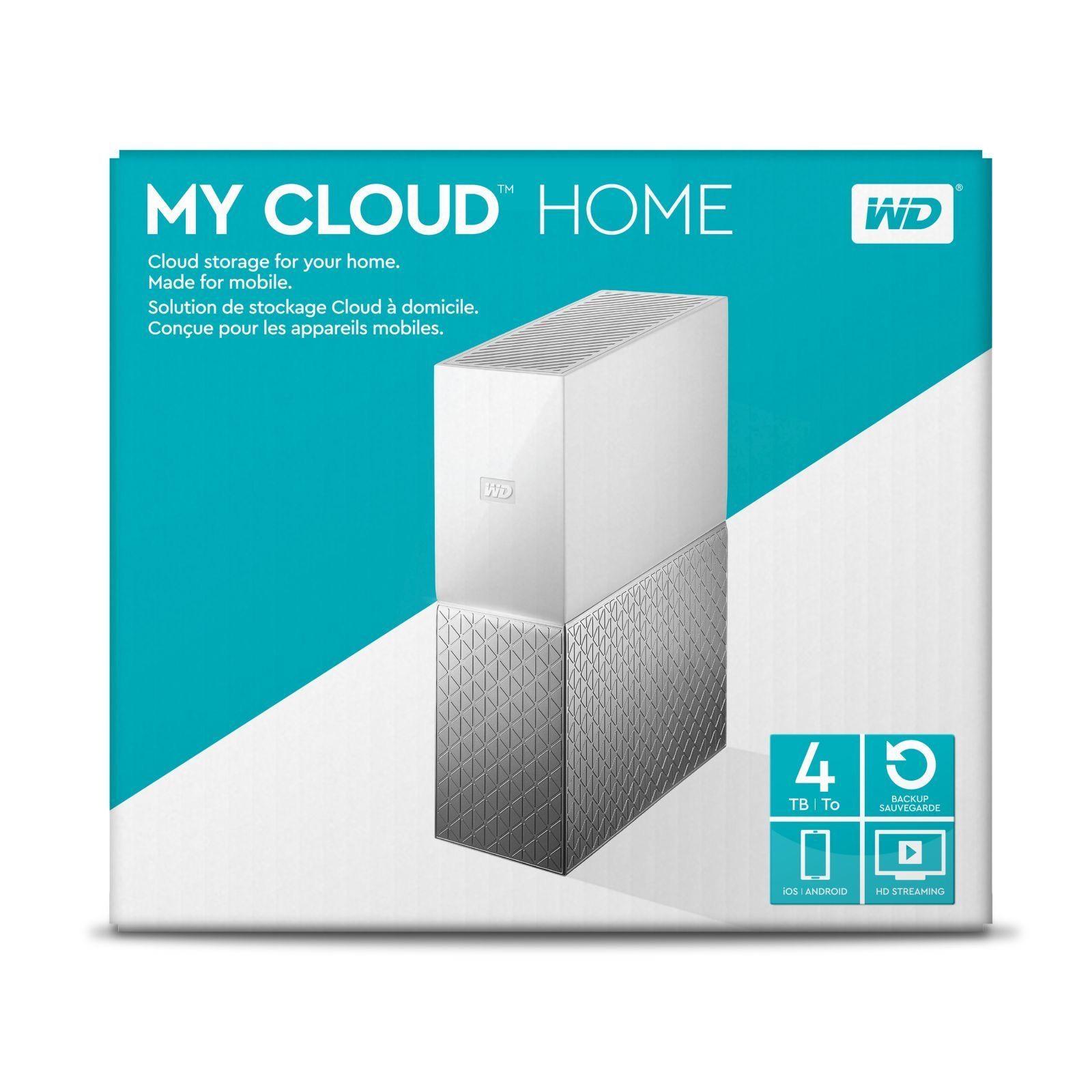 WD My Cloud Home 4TB (2017) - £127.99 @ Amazon