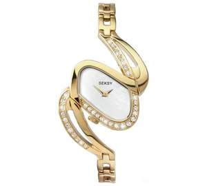 Seksy Ladies' 4861 Mirage Gold Plated Watch £29.99 + Free c&c at Argos