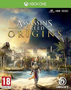 Assassins Creed Origins (Xbox One) used - 8 available   MUSICMAGPIE eBay - £16.55