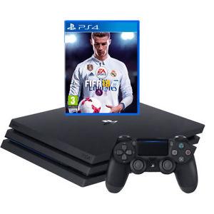 Sony PlayStation PS4 Pro 1TB with FIFA 18 - £314.10 - eBay/AO