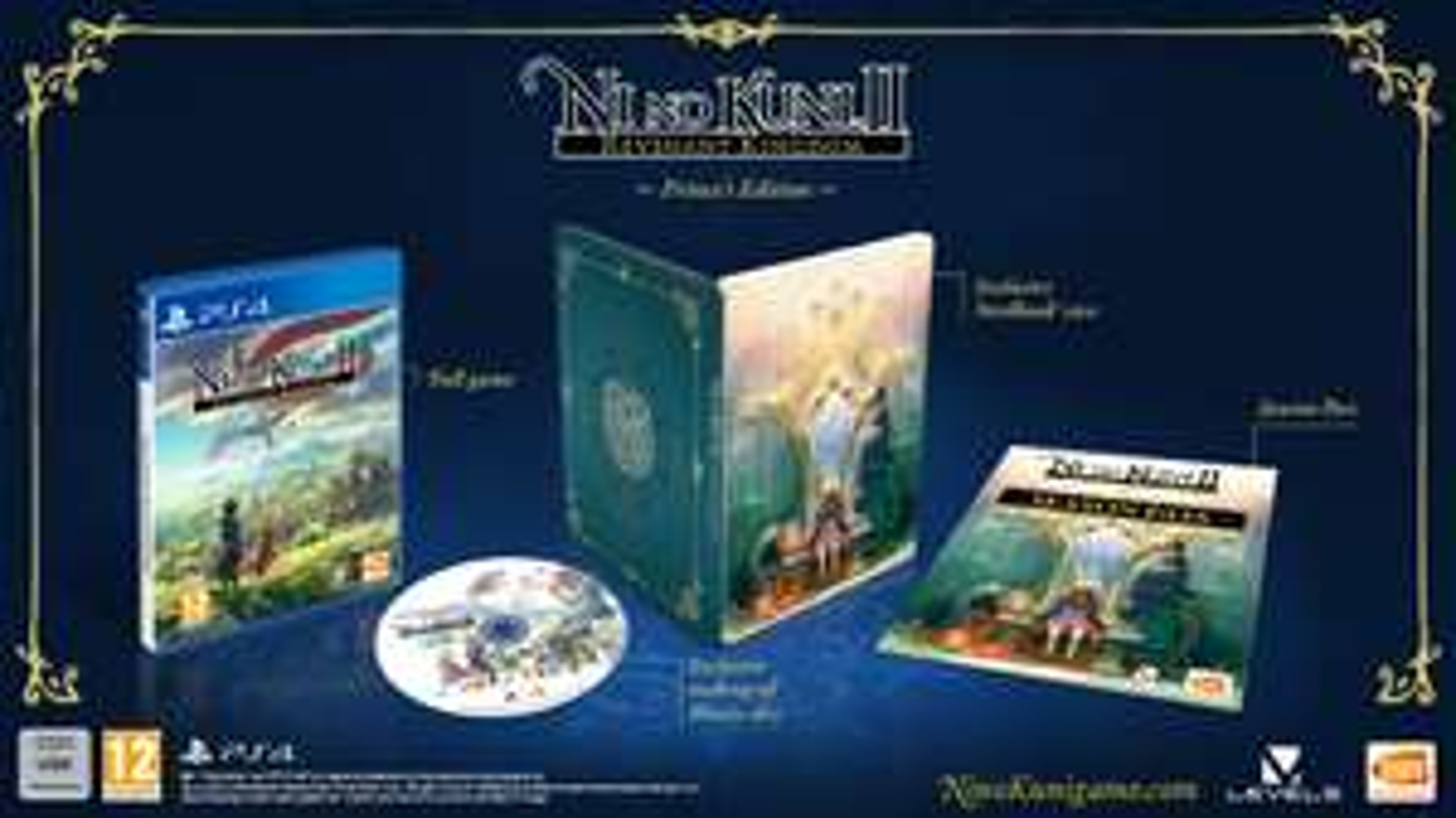 NI No Kuni 2: Princes Edition (PS4) £59.99 at Game