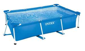 Intex 28272NP Framed pool Rectangular Blue above ground pool, Swimming pool £51.90 @ Alternate