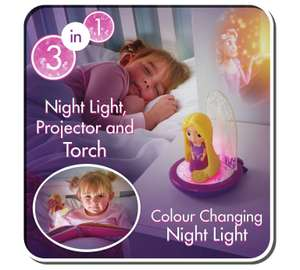 Disney Princess GoGlow 3-In-1 Night Light Projector, was £14.99 now £8.99 @ Argos