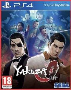 Yakuza 0  (PS4) delivered @  thegamecollectionoutlet Via eBay Italy Using €10 off €20 Code £13.12