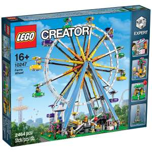 LEGO Ferris Wheel 10247 Creator Expert (plus more Lego / Toy offers in post) @ John Lewis - £127.99