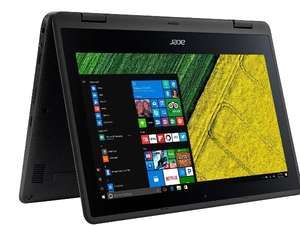 """Acer Spin 1 11.6"""" 2-in-1 Laptop - Black - £179 w/code @ AO"""