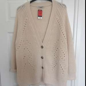 Asda Cream Cardigan - scanned at 40p (Bolton Middlebrook Asda)