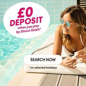 £0 Deposit when pay by direct debit @ Thomas Cook