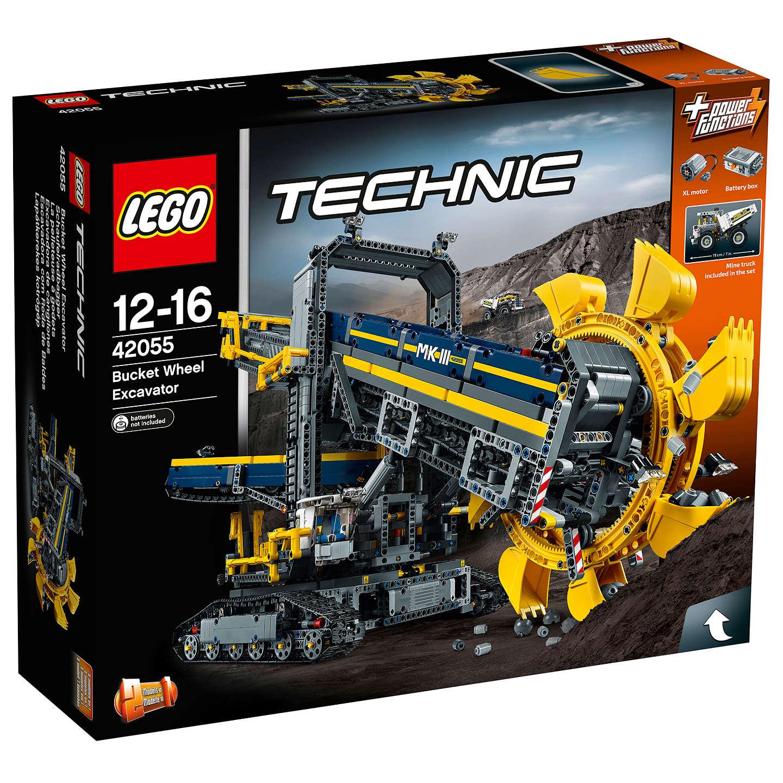 LEGO Technic Bucket Wheel Excavator 42055 @ John Lewis - £116