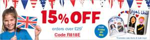 15% off Craft Orders over £29 with Code @ Baker Ross