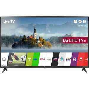 LG 43UJ630V 43 Inch Smart LED TV 4K Ultra HD Freeview HD and Freesat HD 3 HDMI @ AO Ebay Using 10% off code + £10.40 worth of nectar points