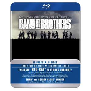 Band Of Brothers Complete Series (Commemorative 6-Disc Gift Set In Tin Box) Blu-Ray £14.99 @ 365games - Free Delivery