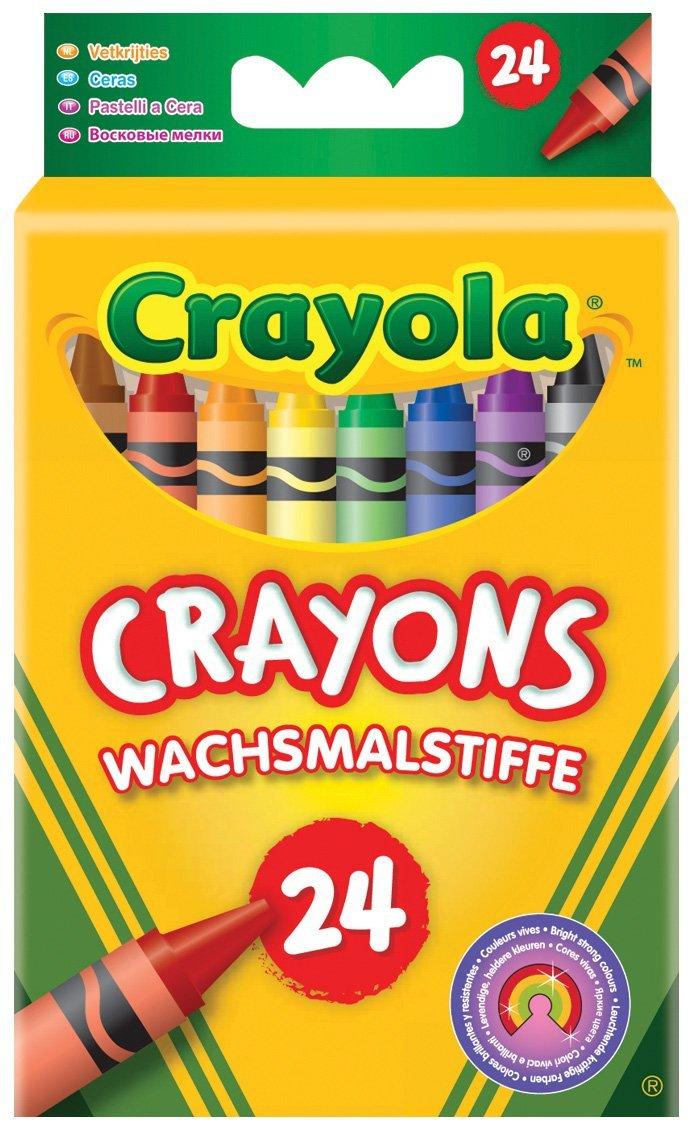 Crayola Crayons 24 pack £1.50 or 75p (post cashback) @Asda and TopCashback