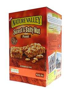 Nature Valley Sweet & Salty Peanut Bars - 30g x 40 for £4 @ Barry's Cash & Carry Halifax