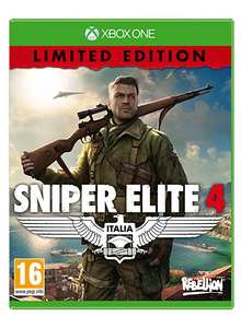 Sniper Elite 4 - Limited Edition (Xbox One) £12.89 on Amazon prime now