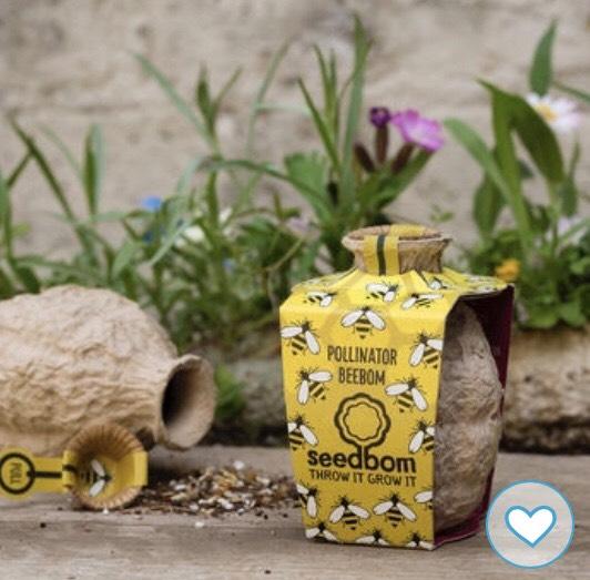 Pollinator Beebom Seedbom £6.70 @ Not On The High Street