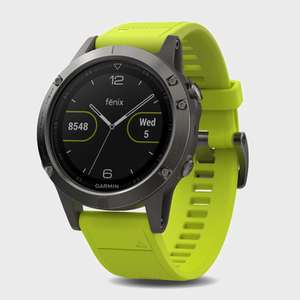 Garmin Fenix 5 on sale again £375 @ Blacks