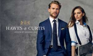 HAWES AND CURTIS SHIRTS 4 for £70.40 WITH AMERICAN EXPRESS otherwise 4 for £88
