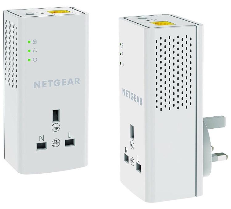 NETGEAR PLP1200-100UKS 1200 Mbps Powerline Kit | £39.99 | @Amazon.co.uk