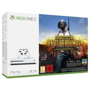 Xbox One S 1TB PlayerUnknown's Battleground Console + Farcry 5 + Halo 5 + Assassins Creed Origins £230 with code at Tesco