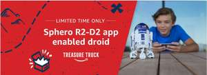 On the Amazon Treasure Truck! Sphero R2-D2 App-Enabled Droid only £59.99