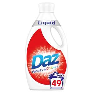Daz liquid 49wash down from £9 - £5 @ Morrisons