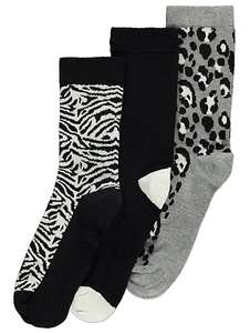 3X assorted print Thermal socks £3 @ Asda